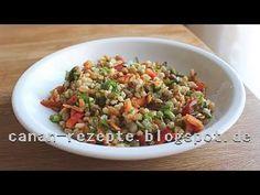 Yoğurtlu Buğday salatası tarifi+Doyurucu ve cok kolay bir salatadir-Hatice mazi - YouTube