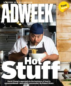 Adweek cover - Aug. 6, 2012
