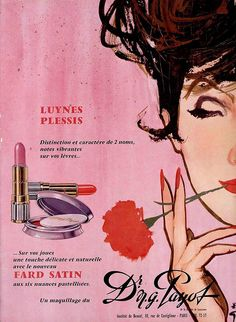 1960s French Payot Ad