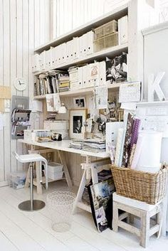 Home Design Inspiration: Home Office Design Ideas 6 Creative but Functional Home Office Designs Parliament Design's Office, Portland office . Home Office Space, Home Office Design, Modern House Design, Office Designs, Office Ideas, Desk Space, Home Design, Workspace Desk, Office Spaces