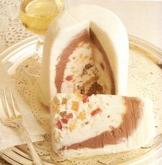 Cassata siciliana ( gelato)  #cassata #CassataSiciliana #sicily