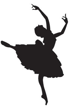 Image result for silhouette of a dancer