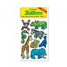 Tattoos Tierwelt (8 Motive)
