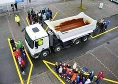 How to teach kids about the blind spots of trucks, brilliant