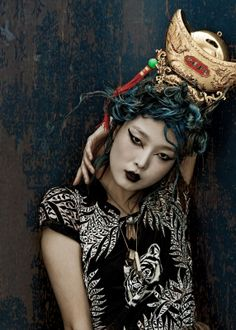 dossier journal  issue #7 spring/summer 2012  model: sung hee. photographer: kah poon