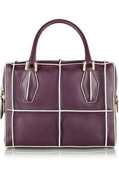 d99562a05810 D-Cube Bauletto Piccolo leather tote by Tod's - Found on HeartThis.com @