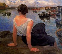 La hija del puerto - Ignacio Díaz Olano (1860-1937)