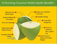Coconut water health benefits are not widely known, yet coconut water is a favorite drink of many. Take a look here for 10 Coconut Water Health Benefits. Coconut Water Benefits, Weight Loss Smoothie Recipes, Weight Loss Water, Look Here, Reduce Cholesterol, Wellness, What Happened To You, Loose Weight, Healthy Drinks