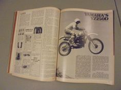 June 1977 Dirt Bike Magazine Yamaha YZ250D Montesa 250H Enduro Trials Daytona | eBay
