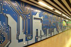 circuitboard deco - Google zoeken