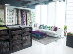 Harlequin showroom, Dubai.
