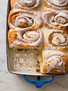 Almond Buns / Spoon Fork Kitchen