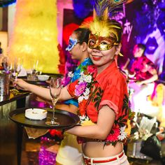Carnival Party at Saigon Saigon Bar: First Wednesday of the month – From 9:00pm