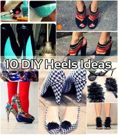 10 Easy DIY Heels Ideas