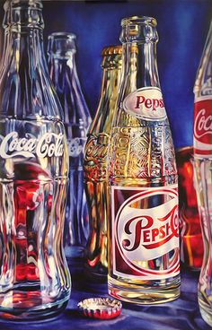 Pepsi by Kate Brinkworth Coke, Pepsi, Coca Cola, Art Et Design, Observational Drawing, Realistic Paintings, A Level Art, Polychromos, Still Life Art
