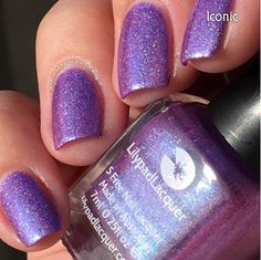 Lilypad Lacquer Iconic, from The Fashionistas Collection. Released Fall/Winter 2015 (pinned from Almost Famous Nails)