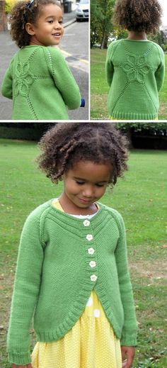 Baby Sweater Patterns, Baby Cardigan Knitting Pattern, Baby Knitting Patterns, Knitting Stitches, Knitting Designs, Knitting For Kids, Crochet For Kids, Free Knitting, Crochet Baby