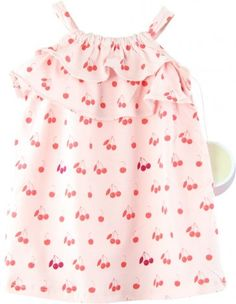 EGG by Susan Lazar Baby Cherry Print Dress