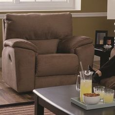 Palliser Furniture Shields Wall Hugger Recliner Upholstery: All Leather Protected - Tulsa II Chalk, Leather Type: All Leather Protected, Type: Manual