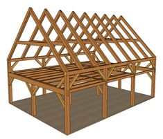 Timber Frame Kits - Kennebec Timber Framing