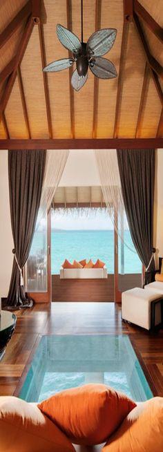 ☼ Life by the sea - blue ocean vacation Ayada Water Villa...Maldives
