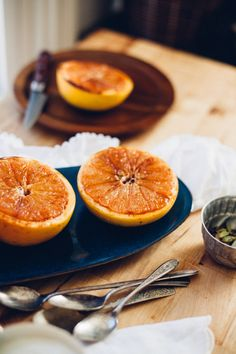 coconut sugar broiled grapefruit • will frolic for food