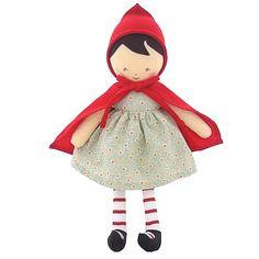 Alimrose Little Red Riding Hood doll