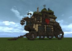 Giant Fantasy Carriage Minecraft Project