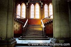 Batman Begins location: 'Arkham Asylum' interior: St Pancras Chambers, Euston Road, London NW1