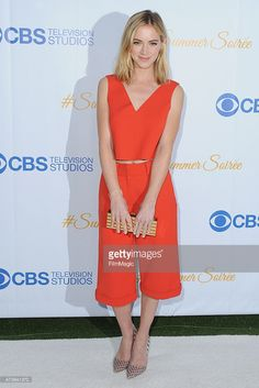 Emily Wickersham looking stunning and wearing our Wire Cuff in 18K yellow gold and diamonds, at the CBS Television Studios 3rd Annual Summer Soiree Party on Monday! @emilywickersham Available at @ileanamakristore #ileanamakripress