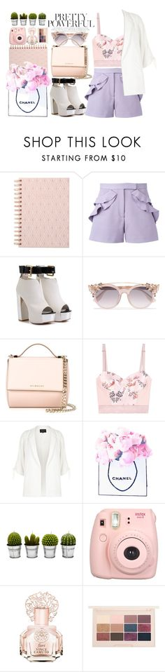 """""""#329"""" by vilte-m ❤ liked on Polyvore featuring DESIGNWORKS INK, Elie Saab, Jimmy Choo, Givenchy, STELLA McCARTNEY, River Island, Chanel, Billabong, Fujifilm and Vince Camuto"""