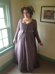 The Bohemian Belle: My 1790s Round Gown