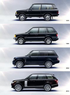 The Land Rover Range Rover Evolution (images source Carscoop). O carro que comprava neste momento.