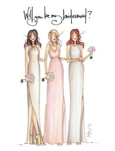 Bridesmaid, Brittany Fuson Paper | Shop | Greeting Cards