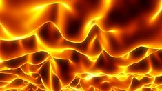 118 Dynamic gold raging fire photography&video background video material for video producer