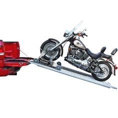 Cruiser Ramp Fully Powered Motorcycle Loading Ramp | DiscountRamps.com