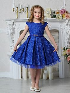 Flower Girls Dresses 2017 Pageant Sheer Jewel Zipper Bow Sash Ball Gown Kids Formal Dresses Cheap F… African Dresses For Kids, Latest African Fashion Dresses, Kids Outfits Girls, Little Girl Dresses, Girl Outfits, Girls Dresses, Formal Dresses, Kids Dress Wear, Kids Gown