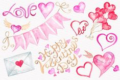 Valentine Clipart, Hearts Clipart, Watercolor Clipart, Love Clipart, Valentines Day Clipart, Commercial Use Clipart, Watercolor hearts This set of hand drawn watercolour elements is perfect for your personal creations and craft business! WHAT YOU GET: After purchasing 5 Zip Files will