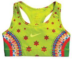 Nike sports bra designed by Japanese artist Yuko Kanatani