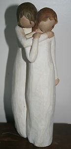 Willow Tree Chrysalis Figurine Mother and Daughter reminds me of Merideth and Merlin