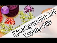 İĞNE OYASI TRABZAN MODELİ YAPIMI ( DIY ) - YouTube Brazilian Embroidery, Tatting Patterns, Needle Lace, Lace Making, Crochet Lace, Needlework, How To Make, Crafts, Diy