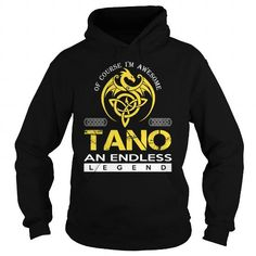 I Love TANO An Endless Legend (Dragon) - Last Name, Surname T-Shirt T shirts