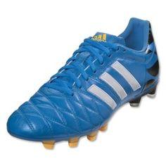 204e57e1c9b Adidas adiPure 11Pro TRX FG Men s Soccer Cleats -Solar Blue-Football White -Gold