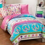 Peace and Love Reversible Bed in a Bag