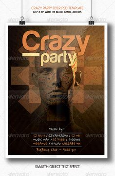 Crazy Party | Flyer Template