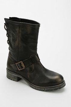 Jeffrey Campbell 1950 Back-Lace Engineer Boot