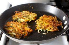 Root Vegetable Pancakes