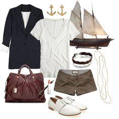 noteworthy nautical ~    weekend at the shore    <3
