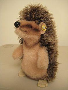 Steiff Vintage Joggi Hedgehog  1978 to 1985  by GrandmaJer, $37.00