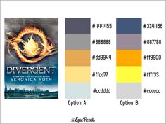 23 Exquisite Palettes Inspired By Our Favorite YA Book Covers   Blog   Epic Reads